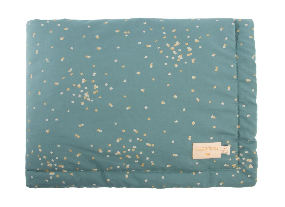 Couverture Laponia gold confetti magic green - 2 tailles
