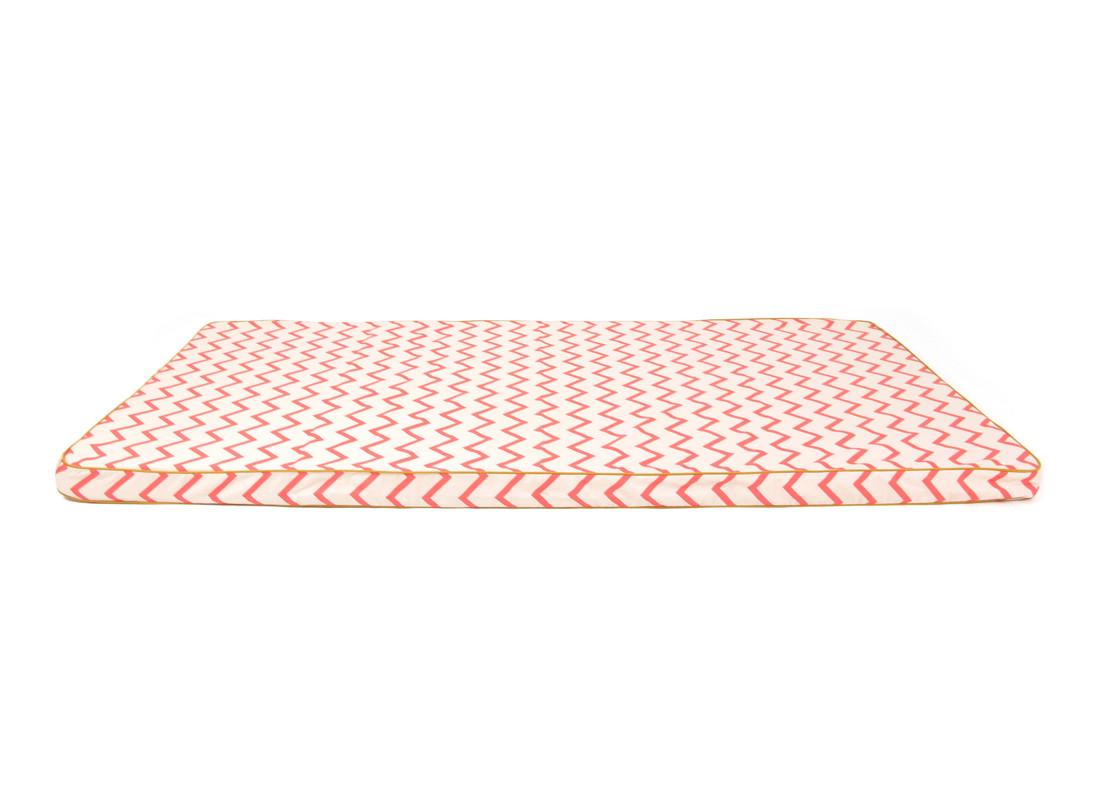 Matelas de sol Saint Tropez • zigzag pink