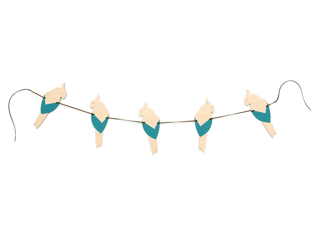 Guirlande Parrot • blue