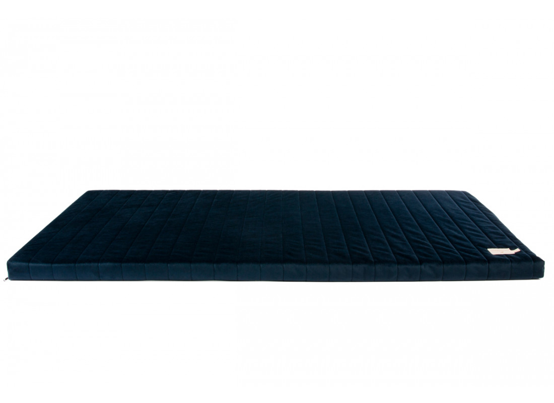 Zanzibar velvet mattress night blue