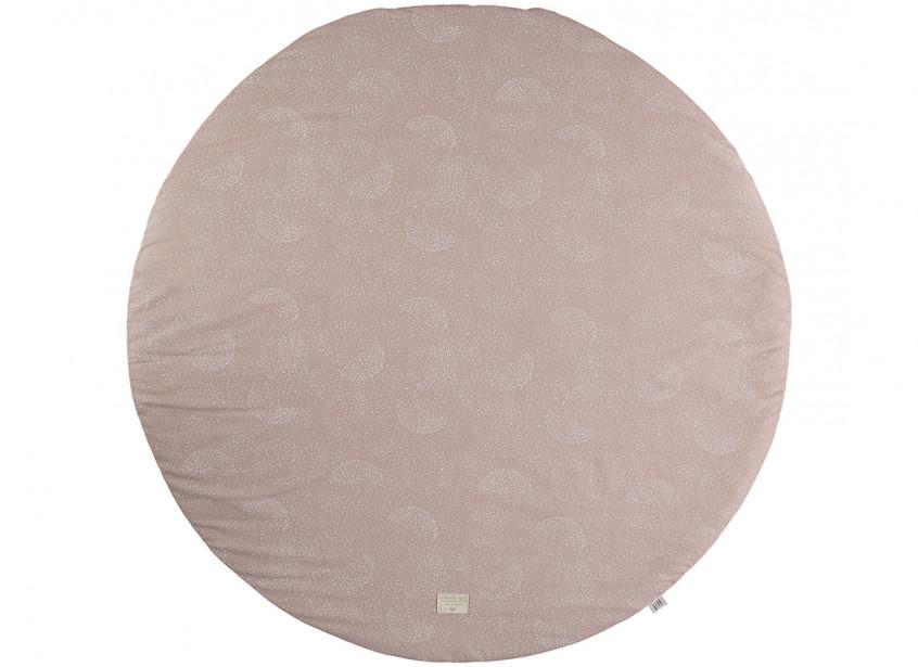 Tapis de jeu Full Moon • white bubble misty pink