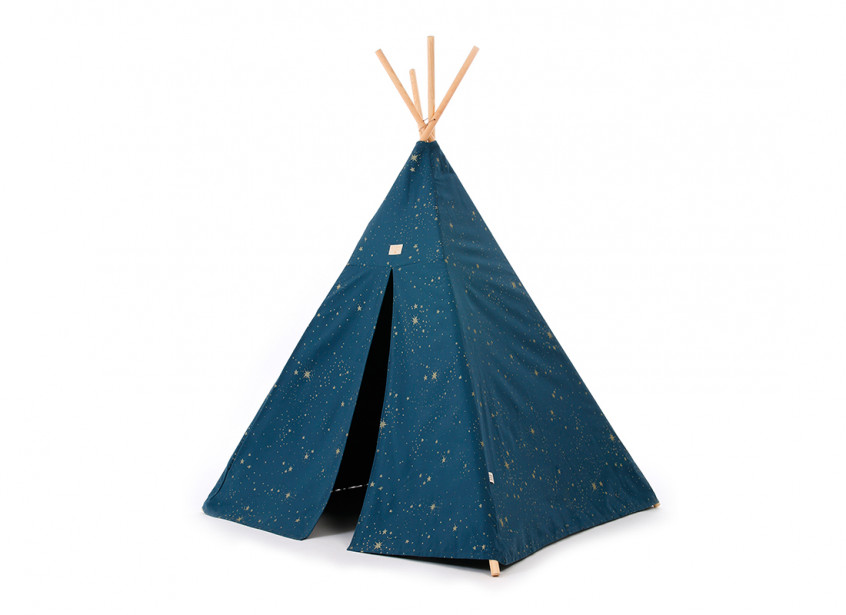 Tipi Phoenix 149x100 gold stella/ night blue