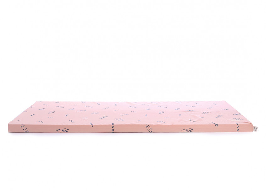 Matelas de sol Saint Barth • blue secrets misty pink