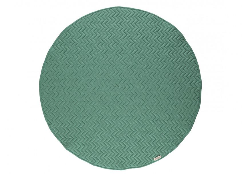 Tapis de jeu Kiowa 105x105 siesta green