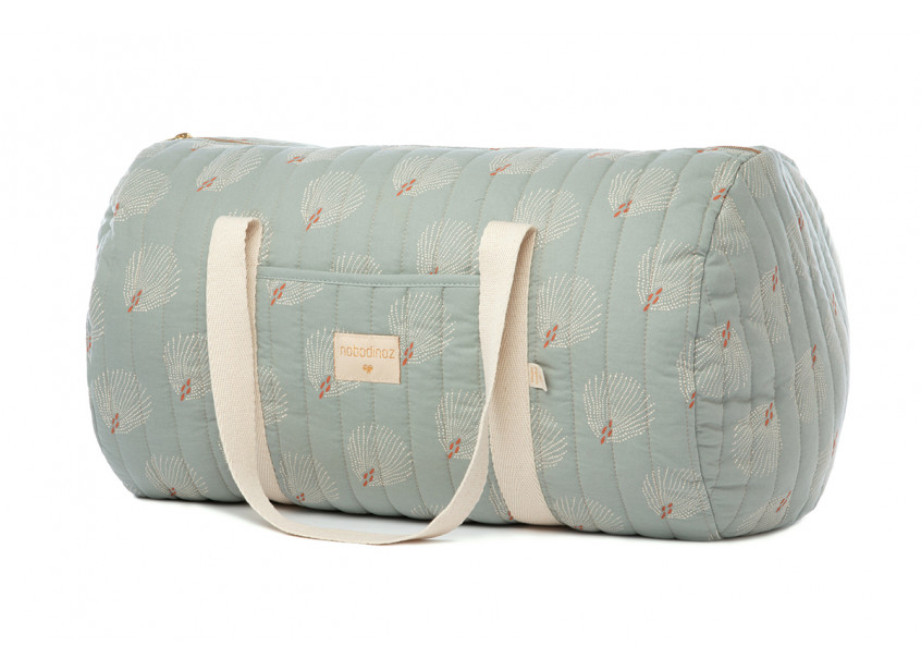 Sac week-end New York • white gatsby antique green