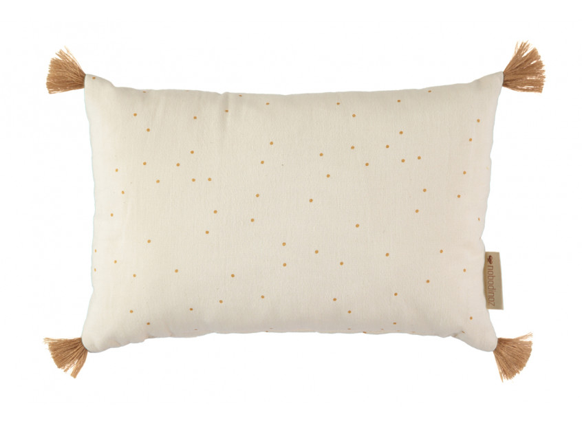 Coussin Sublim 20x35 honey sweet dots/ natural