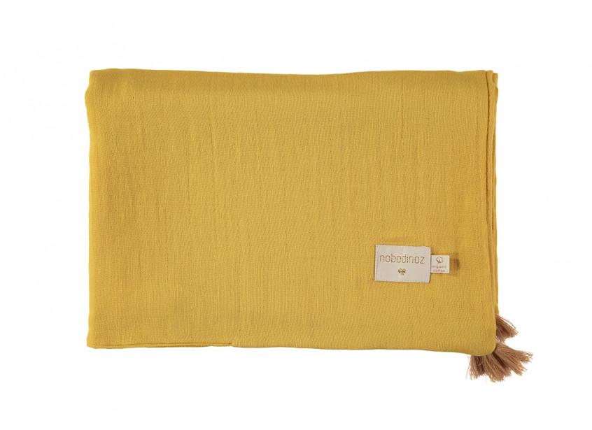 Couverture d'été Treasure 70x100 farniente yellow