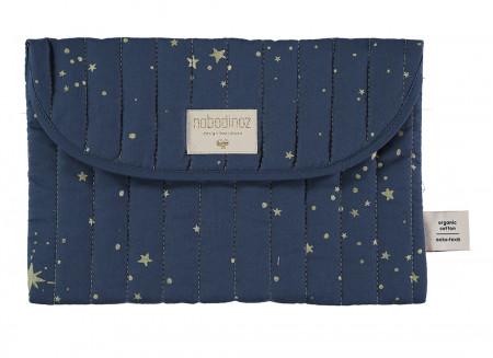 Pochette Bagatelle • gold stella night blue