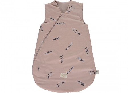 Gigoteuse Cocoon blue secrets/ misty pink - taille large