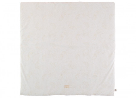 Tapis de jeu Colorado 100x100 gold bubble/ white