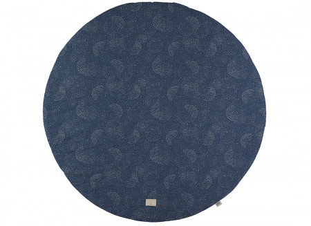 Tapis de jeu Full Moon • gold bubble night blue