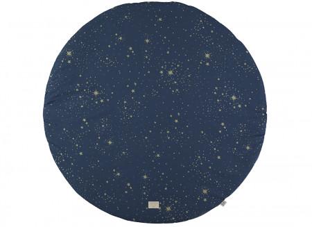 Tapis de jeu rond Full Moon small 105x105 gold stella/ night blue