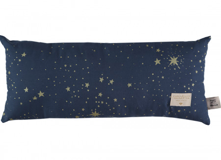 Coussin Hardy gold stella night blue
