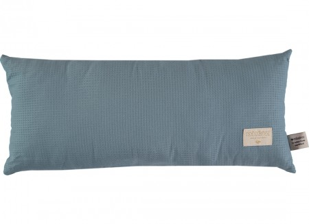 Coussin Hardy nid d'abeille 22x52 magic green