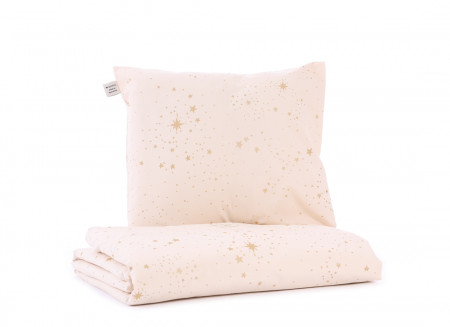 Housse de couette Himalaya • gold stella dream pink