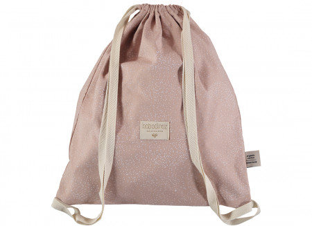Sac à dos Koala 40x34 white bubble/ misty pink