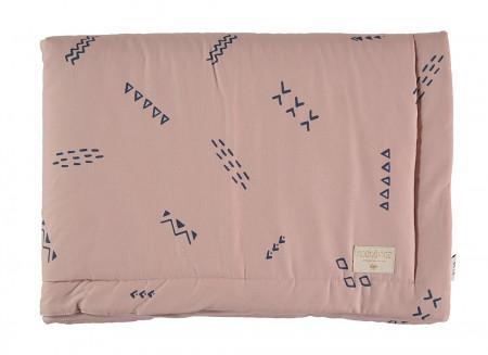 Couverture Laponia blue secrets/ misty pink - 2 tailles