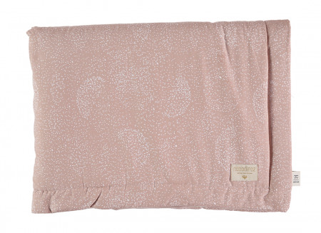 Couverture Laponia white bubble misty pink - 2 tailles