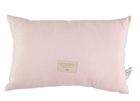 Coussin Laurel nid d'abeille 22x35 dream pink