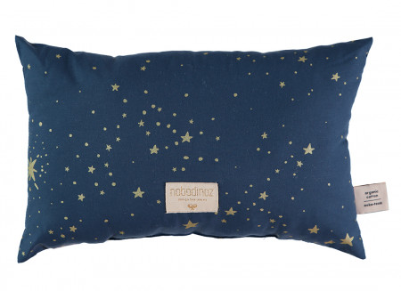 Coussin Laurel gold stella night blue