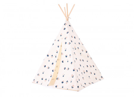 Tipi Phoenix 149x100 night blue eclipse/ natural