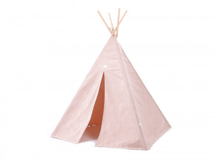 Tipi Phoenix • white bubble misty pink