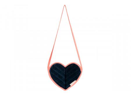 Love velvet mini bag night blue