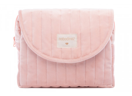 Savanna velvet Maternity Case bloom pink