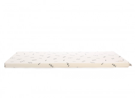 Matelas de sol Saint Barth 60X120X4 black secrets/ natural
