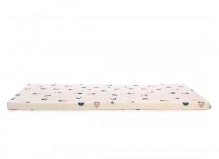 Matelas de sol Saint Barth 60X120X4 night blue eclipse/ natural