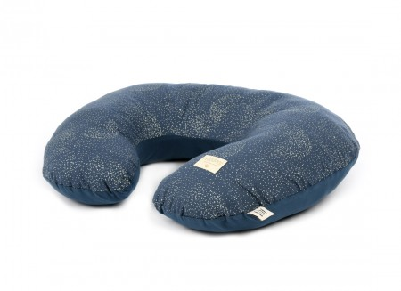 Coussin d'allaitement Sunrise 50x60x15 gold bubble/ night blue