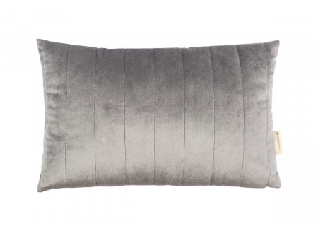 Coussin Akamba • velvet slate grey