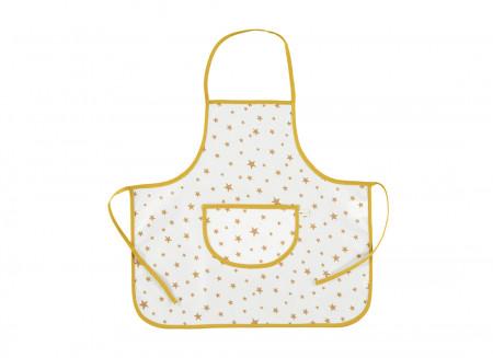 Tablier Sicilia - Étoiles moutarde