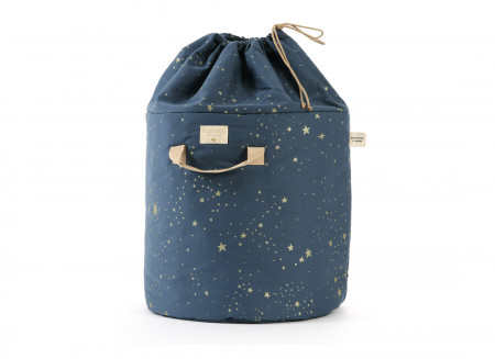 Sac à jouets Bamboo • gold stella night blue