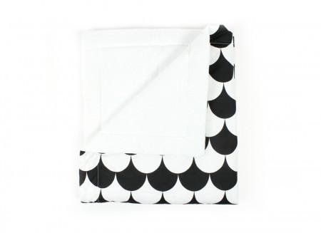 blanket copenhague écailles noires – mini