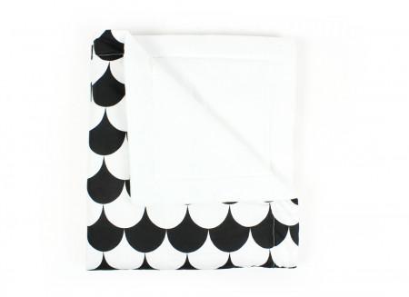 Couverture Copenhague écailles noires - 2 tailles