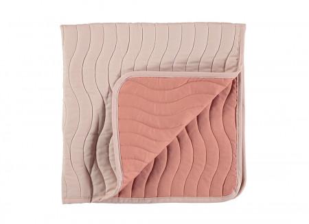Mini couverture Reykjavik bloom pink