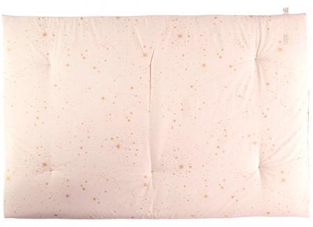 Futon Eden 148x100x6 gold stella/ dream pink