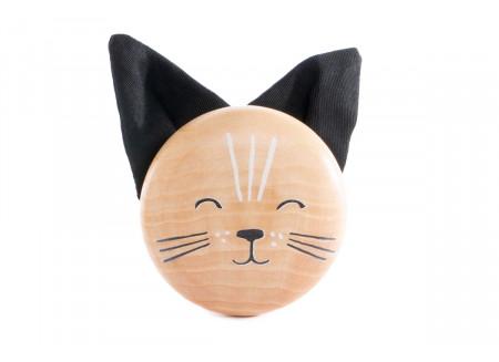 Patère en bois de frêne Cat
