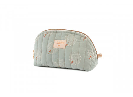 Trousse de toilette Holiday • white gatsby antique green
