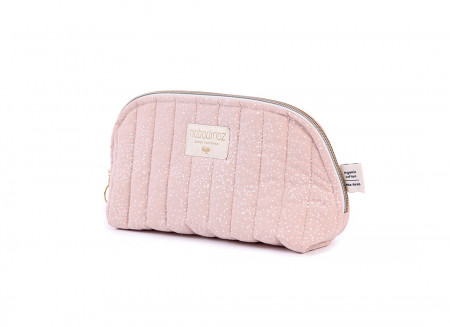 Trousse de toilette Holiday white bubble/ misty pink - 2 tailles