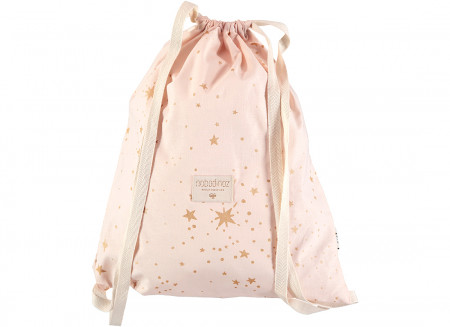 Sac à dos Koala 40x34 gold stella/ dream pink