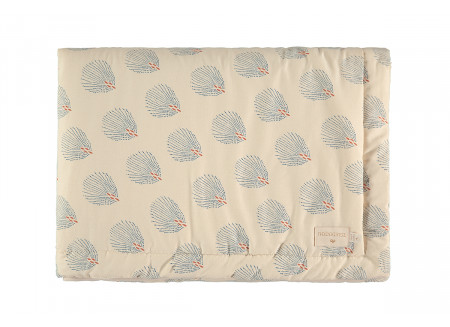 Couverture Laponia blue gatsby cream - 2 tailles