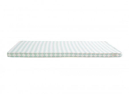 Matelas de sol Saint Tropez • green diamonds