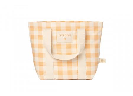 mini sac à main Sunshine • melon vichy