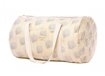Sac week-end New York blue gatsby cream