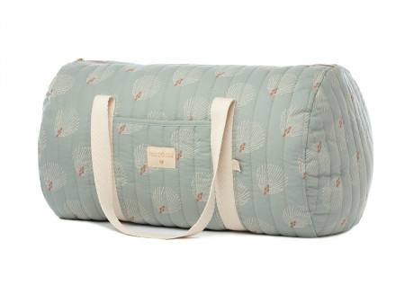 Sac week-end New York white gatsby antique green