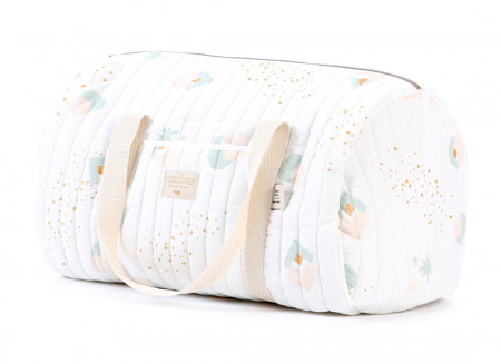 Sac weekend New York 30x45x30 aqua eclipse/ white