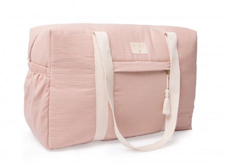 Sac de maternité imperméable Opera 29x46x20 misty pink