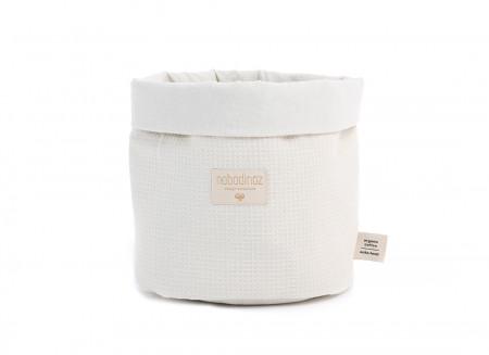 Panda basket Large honeycomb 29X25 natural